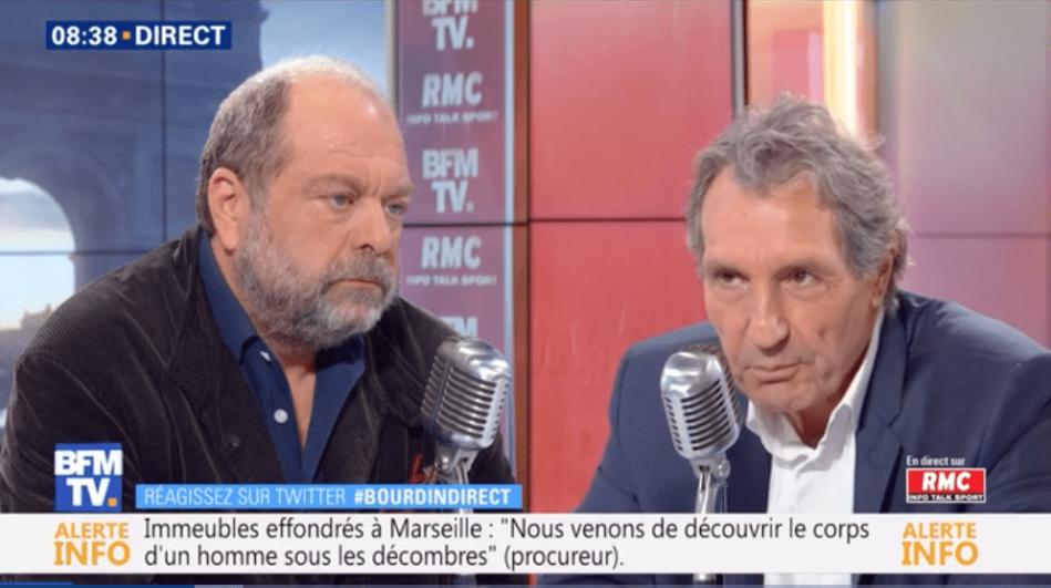 Dupond-Moretti Bourdin-min